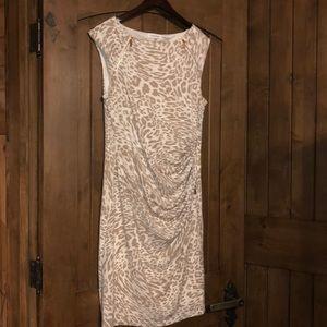 Calvin Klein | cheetah print dress